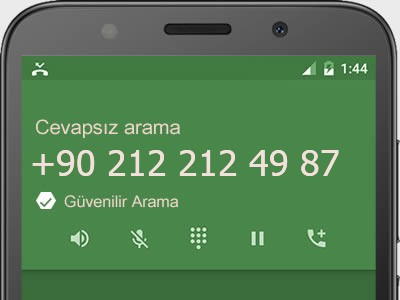 0212 212 49 87 numarası dolandırıcı mı? spam mı? hangi firmaya ait? 0212 212 49 87 numarası hakkında yorumlar