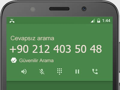 0212 403 50 48 numarası dolandırıcı mı? spam mı? hangi firmaya ait? 0212 403 50 48 numarası hakkında yorumlar