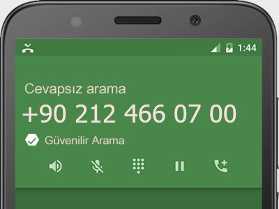 0212 466 07 00 numarası dolandırıcı mı? spam mı? hangi firmaya ait? 0212 466 07 00 numarası hakkında yorumlar