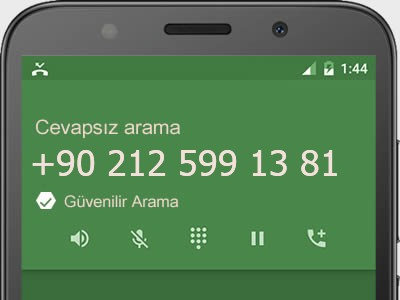 0212 599 13 81 numarası dolandırıcı mı? spam mı? hangi firmaya ait? 0212 599 13 81 numarası hakkında yorumlar