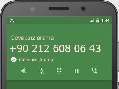 0212 608 06 43 numarası dolandırıcı mı? spam mı? hangi firmaya ait? 0212 608 06 43 numarası hakkında yorumlar