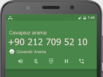 0212 709 52 10 numarası dolandırıcı mı? spam mı? hangi firmaya ait? 0212 709 52 10 numarası hakkında yorumlar
