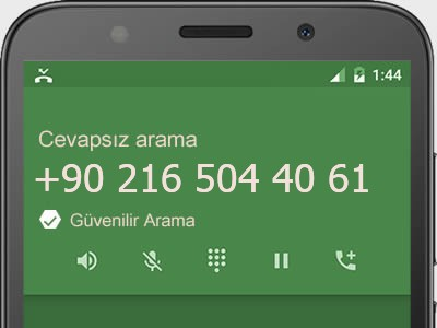 0216 504 40 61 numarası dolandırıcı mı? spam mı? hangi firmaya ait? 0216 504 40 61 numarası hakkında yorumlar