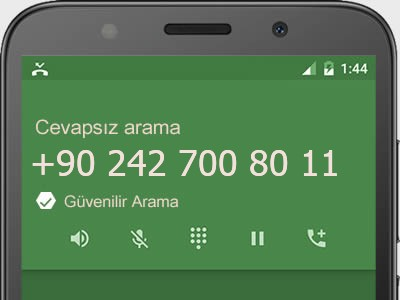 0242 700 80 11 numarası dolandırıcı mı? spam mı? hangi firmaya ait? 0242 700 80 11 numarası hakkında yorumlar