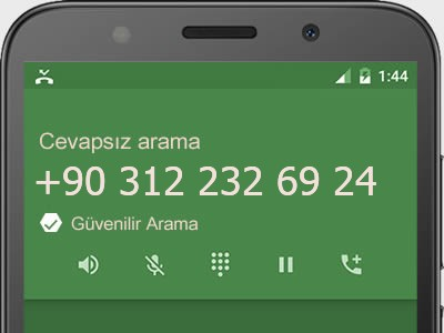 0312 232 69 24 numarası dolandırıcı mı? spam mı? hangi firmaya ait? 0312 232 69 24 numarası hakkında yorumlar