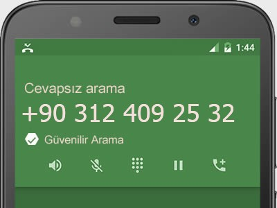 0312 409 25 32 numarası dolandırıcı mı? spam mı? hangi firmaya ait? 0312 409 25 32 numarası hakkında yorumlar