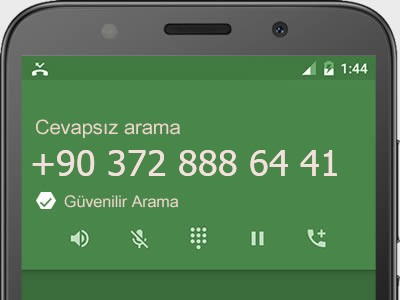 0372 888 64 41 numarası dolandırıcı mı? spam mı? hangi firmaya ait? 0372 888 64 41 numarası hakkında yorumlar