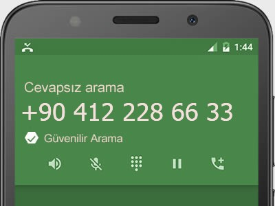 0412 228 66 33 numarası dolandırıcı mı? spam mı? hangi firmaya ait? 0412 228 66 33 numarası hakkında yorumlar