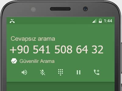 0541 508 64 32 numarası dolandırıcı mı? spam mı? hangi firmaya ait? 0541 508 64 32 numarası hakkında yorumlar