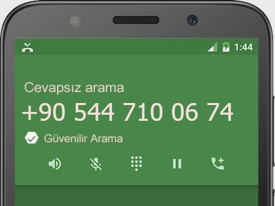 0544 710 06 74 numarası dolandırıcı mı? spam mı? hangi firmaya ait? 0544 710 06 74 numarası hakkında yorumlar